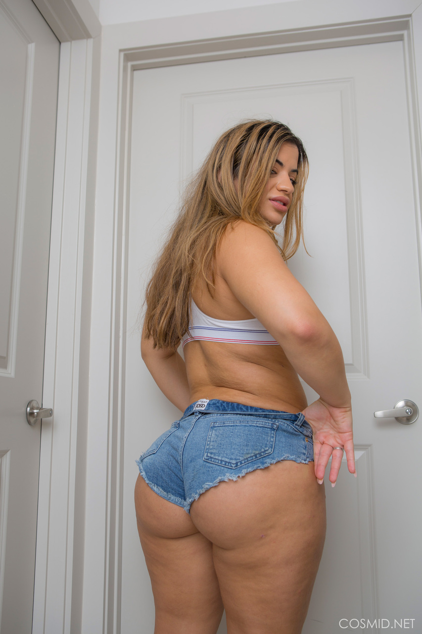 Exotic Chubby Porn Babe In Short Shorts Has One Of The Thickest Asses Ive Ever Seen