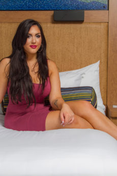 Milena On The Bed