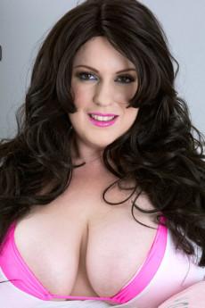 Naia's Heavy Tits Overwhelm Her Pink Bikini